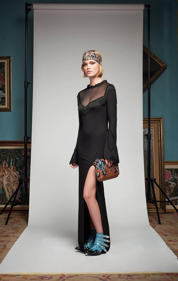796c592f9c6d Vestito lungo con frange - FRANK LISITANO Fashion Store