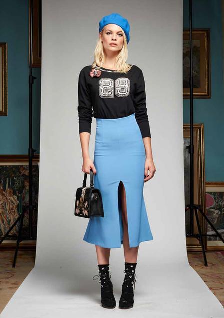 Longuette con spacco - FRANK LISITANO Fashion Store e34838f6c14d